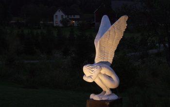 Hage statue - Gauldal